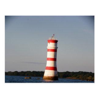 Rangitoto Lighthouse Postcard