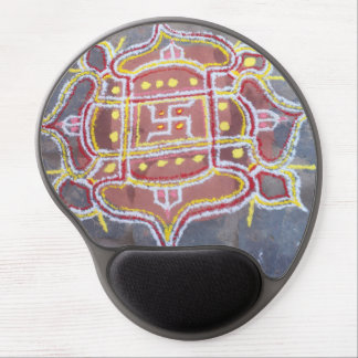 Rangoli  Hinduism Wedding Religious Decorations Gel Mouse Pad