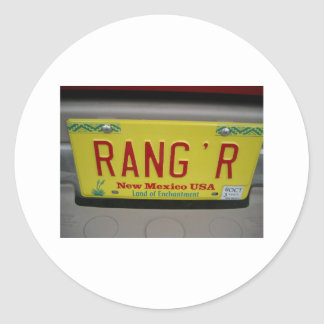 Rang'r Classic Round Sticker