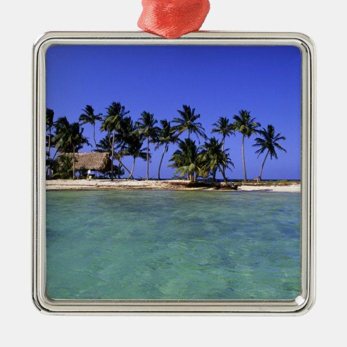 Ranguana Caye, Belize Metal Ornament