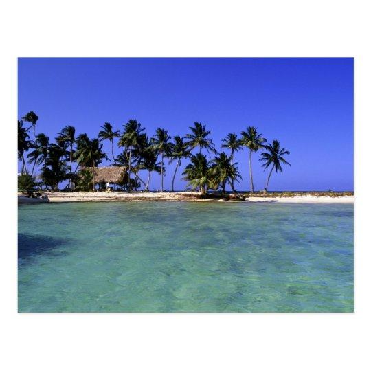 Ranguana Caye, Belize Postcard