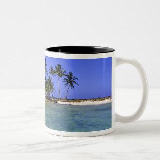 Ranguana Caye, Belize Two-Tone Coffee Mug