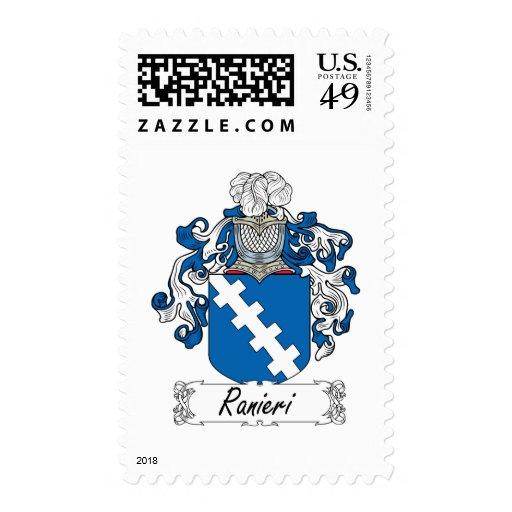 Ranieri Family Crest Stamp