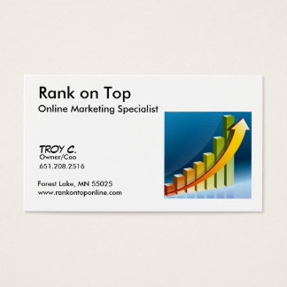 Rank on Top online ... - Customized Business Card