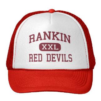 Rankin - Red Devils - High School - Rankin Texas Trucker Hat