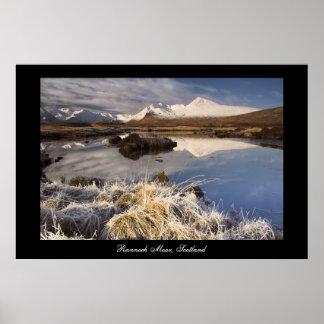 Rannoch Moor 3 Poster