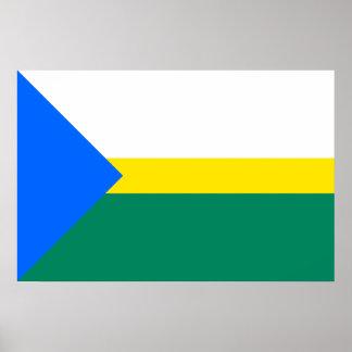 Rannu Vald, Estonia flag Poster