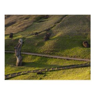 Rano Raraku, Rapa Nui, Easter Island, Chile Postcard
