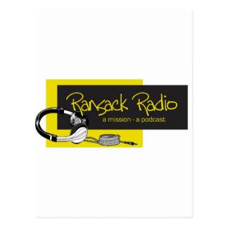 Ransack Radio Postcard