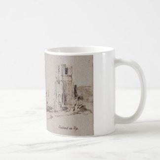 Ransdorp. Drawing by Rembrandt van Rijn. Coffee Mug