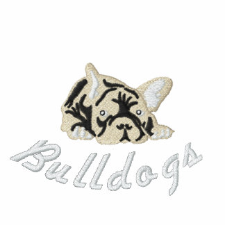 Ranskanbulldoggi Embroidered Hoody