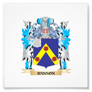 Ranson Coat of Arms - Family Crest Photo Print