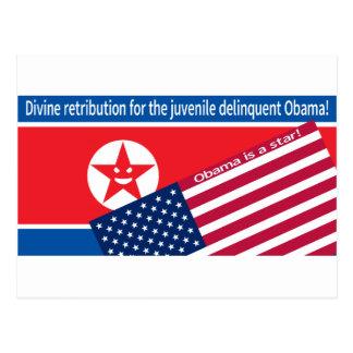 Ranting de Corea del Norte Tarjetas Postales