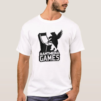 Rantmedia Games T-Shirt (White)