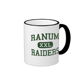 Ranum - asaltantes entrenados para la lucha cuerpo taza de dos colores