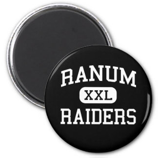 Ranum - Raiders - High School - Denver Colorado Magnet
