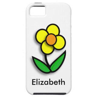 * Ranúnculo amarillo brillante iPhone 5 Carcasas