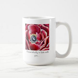 Ranúnculo-LY en amor con usted, taza