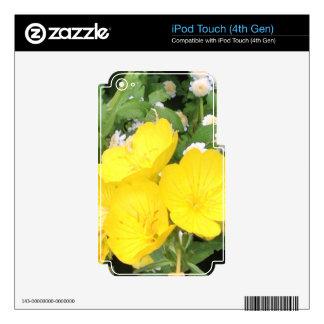 Ranúnculo y respiración de los bebés iPod touch 4G skin