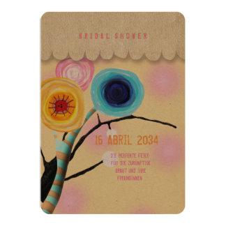 Ranunculus boutonniere card