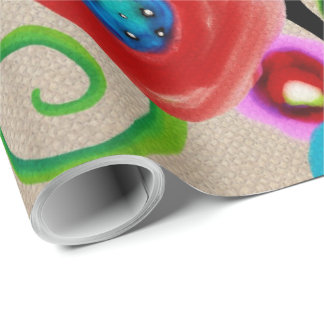 Ranunculus Luxury Wrapping Paper