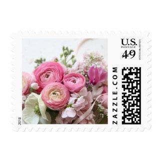 ranunculus, other spring blooms postage stamp
