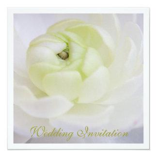 Ranunculus Wedding Invitation