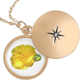 Ranunculus (yellow) necklace