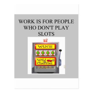 ranura al jugador del casino del jugador postal