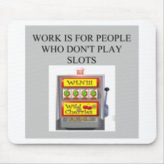 ranura al jugador del casino del jugador tapetes de ratones