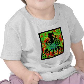 Ranura Canyoned de la bici Camisetas