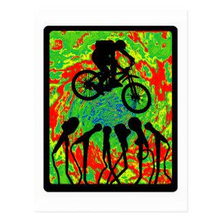 Ranura Canyoned de la bici Postales