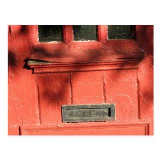 Ranura de correo postal