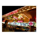 Ranura las postales de Las Vegas de una diversión