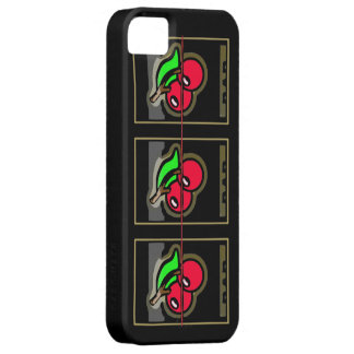 Ranura Machne de las cerezas salvajes iPhone 5 Case-Mate Cárcasas