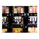Ranuras de Las Vegas - máquinas ideales Postal