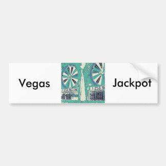 Ranuras de Las Vegas Pegatina Para Auto