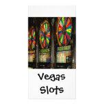 Ranuras de Vegas Tarjeta Personal Con Foto