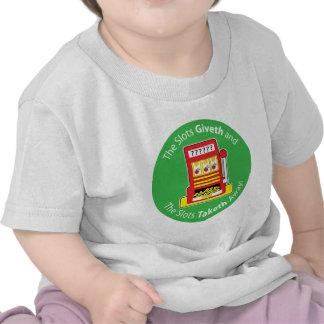 Ranuras Giveth y Taketh Camisetas