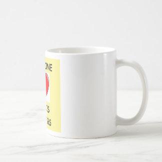ranuras taza básica blanca