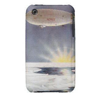 Raold Amundsen's airship Norge over North Pole Case-Mate iPhone 3 Cases