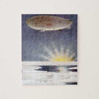 Raold Amundsen's airship Norge over North Pole Puzzles