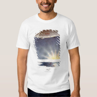 Raold Amundsen's airship Norge over North Pole T Shirt