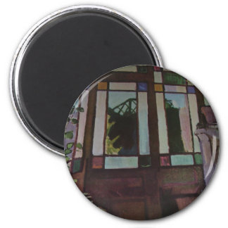 "Raoul Dufy ""Stained Glass Door"" Fridge Magnet"