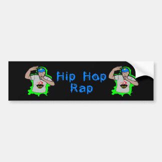 Rap 1 de Hip Hop Pegatina Para Auto