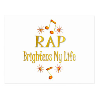 RAP Brightens My Life Post Card