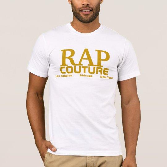 Rap Couture Gold Album T-shirt