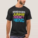 Rap Couture - Sneaker Junkie-Addict-Fiend T-Shirt