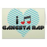 Rap de Gangsta Felicitación
