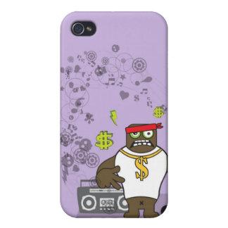 Rap de Gangsta iPhone 4/4S Fundas